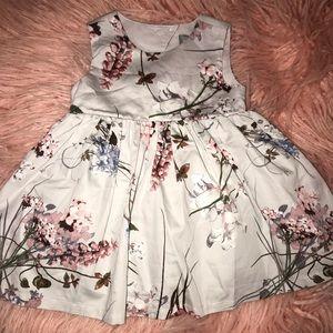 Floral dress - 6-9 m